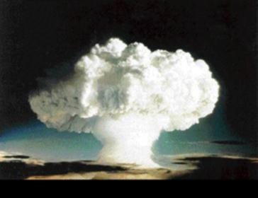Atomic Bomb Mushroom Cloud